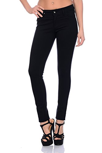 Slim Leggings Hanches Pratique Stretch Coupe Freyday Jeggings Pantalon Tendance Noir Très 06S4U