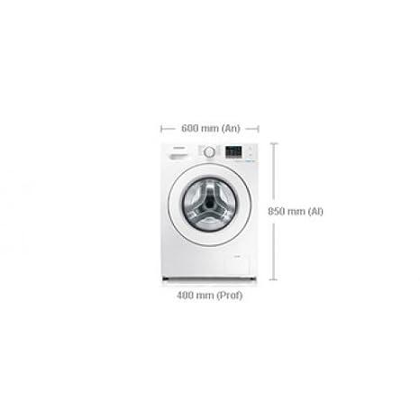 Samsung WF60F4E0W2W - Lavadora De Carga Frontal Ecobubble ...