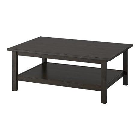 Ikea HEMNES - Mesa de Centro, Negro-marrón - 118x75 cm ...