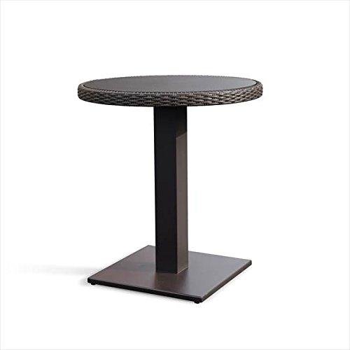 かじ新 RAUCORD OLBIA ダイニングテーブル 650φ 『ガーデンテーブル ガーデンファニチャー』 ダークブラウン B01LQ0EA6M