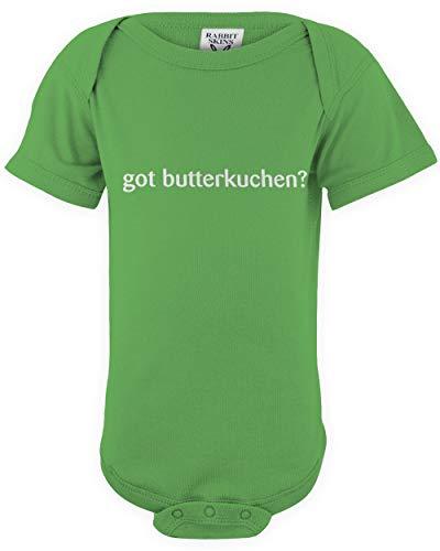 shirtloco Baby Got Butterkuchen Infant Bodysuit, Apple 24 Months