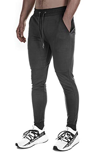 Eighties Workout Fashion - FIRSTGYM Men's Gym Active Pants Slim