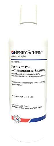 Henry Schein PhytoVet PSS Antiseborrheic Shampoo, - Shampoo Acid Salicylic Sulfur