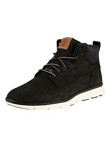 Timberland Mens Killington Chukka Outdoor Walking Nubuck Ankle Boots - Black/White - 10.5