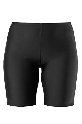 Ulla Popken Women's Plus Size Quick Dry Supportive Swim Shorts Black 24 698609 10