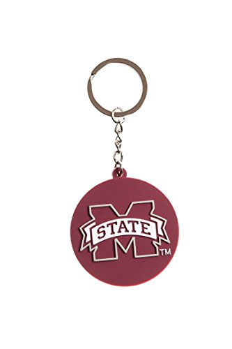 Collegiate Pulse Mississippi State Bulldogs NCAA PVC Keychain