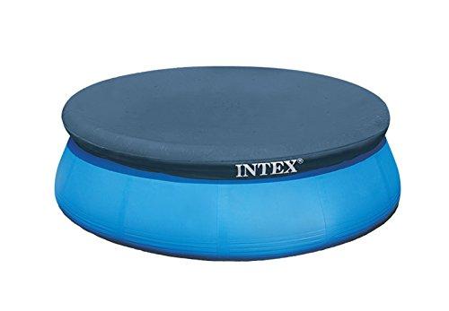 Intex Abdeckplane für Easy Pool, dunkelblau, Ø 244cm