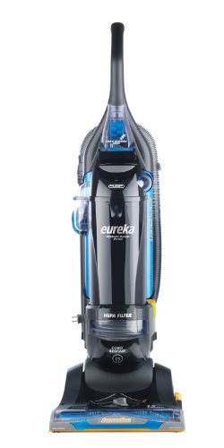 Eureka MyVac ASM1156A All Floors Rewind Allergy w/ Airspeed Technology