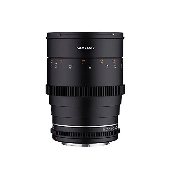 RetinaPix Samyang Enhanced Cine Lens, VDSLR 35MM T1.5 MK2, for Mount MFT Cameras