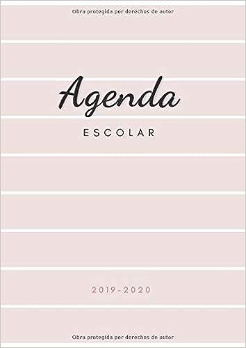 Agenda Escolar 2019-2020: Agenda para Profesores y ...