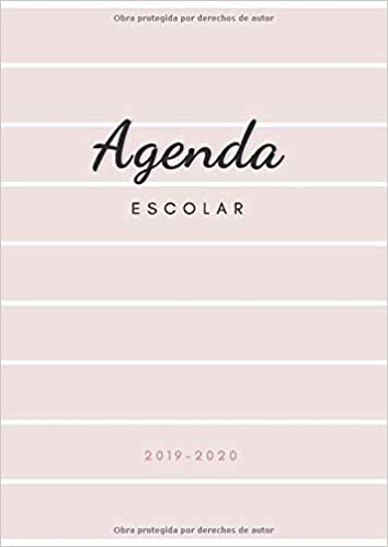 Amazon.com: Agenda Escolar 2019-2020: Agenda para Profesores ...