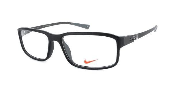 7e782752399 Amazon.com  Nike Eyewear Reading Glasses - 7105 in Satin Black   +1.50   Clothing