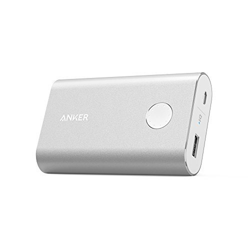 One-of-The-Most-Powerful-10000mAh-Power-Banks-Anker-PowerCore-10050-Premium-Aluminum-Portable-Battery-Charger-with-Qualcomm-Quick-Charge-20-Technology-Silver