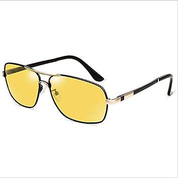 Gafas de Sol de Metal de Uso Doble polarizadas automáticas Que cambian el Color del Espejo