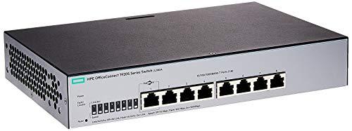 Switch HPE Aruba 1920S-8G 8p Giga - JL380A, Hpe Aruba, Switches de Rede