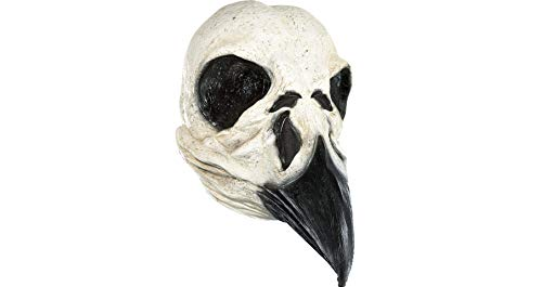 Amscan Bird Skull Halloween Mask for Adults, One -