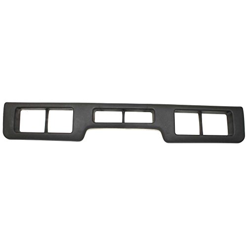 - Evan-Fischer EVA20072011808 Bumper Trim Molding for Ford F-Series 92-97 Front Center Plastic Black XLT Model