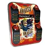 Playstation 2: Buzz! THE BIG QUIZ inkl. 4x Sony Buzz! Buzzers (UK Import)