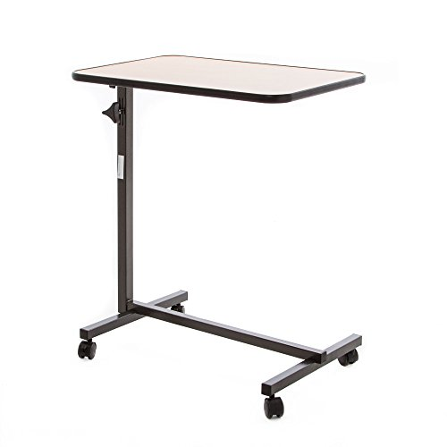 Top hospital bed tray table on wheels for 2019