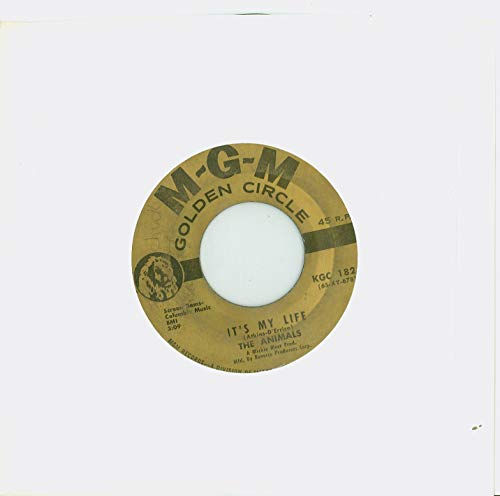 It's My Life | Inside-Looking Out - The Animals (MGM Golden Circle Records 1968) Excellent (5 out of 10) - Vintage 45 RPM Vinyl Record