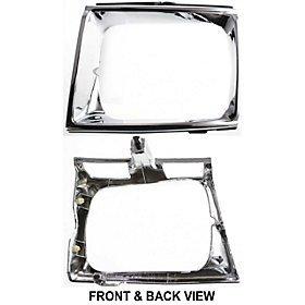 QP Z5769-a Toyota Chrome Passenger Headlight Door Grille