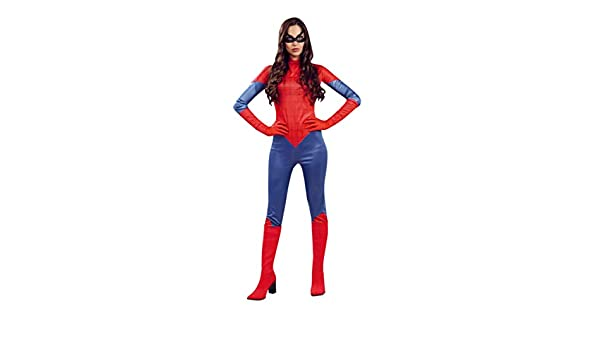 Guirca 84831 - Superheroina Adulta Talla L 42-44: Amazon.es ...