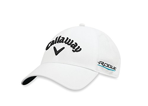 Callaway Golf 2018 Tour Authentic Fitted Hat, White, Large/X-Large