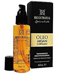 Linha Oleo Argan e Cartamo (Specialiste) Bio Extratus - Oleo Multifuncional 60 Ml - (Bio Extratus Argan Oil & Cartamo...