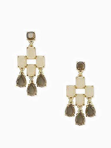 59d86c3ba Amazon.com: Kate Spade New York Chandelier Earrings O0RU1715 Grey ...