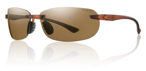 Price comparison product image Smith Optics Turnkey Premium Lifestyle Polarized Active Sunglasses - Dark Brown / Chromapop Brown / Size 66-13-130