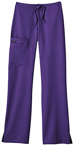 Jockey Women's Scrubs Maximum Comfort Scrub Pant, purple, S by Jockey