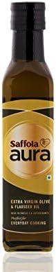 Saffola Aura Extra Virgin Olive & Flaxseed Oil - 250 ml