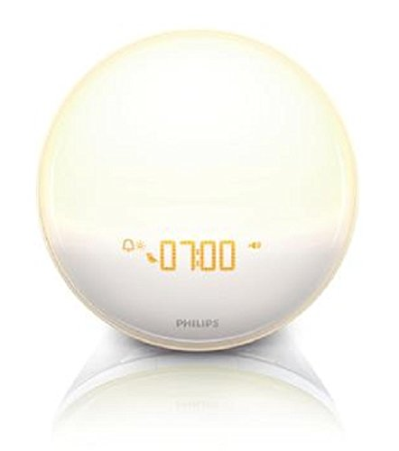 Apps for Android Philips iPhone Controlled Wake-Up Light with Colored Sunrise Simulation White Alarms & Clocks