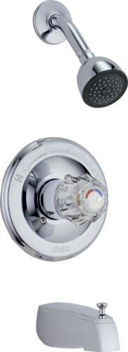 (Delta Faucet T13422 Classic, MonitorR 13 Series Tub and Shower Trim, Chrome)