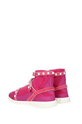 Tissu EU Valentino Rose Femme Bottines 2S0F81FTI Garavani wAAXHqt