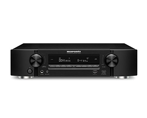 Marantz NR1607 Ultra HD 7.2 Channel Network A/V Surround Receiver with Bluetooth and Wi-Fi
