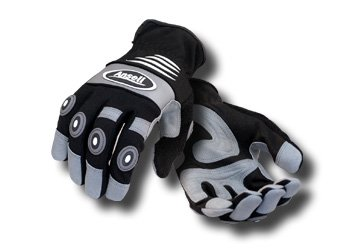 Ansell 012-97-973L Projex HD Impact Glove44; Large