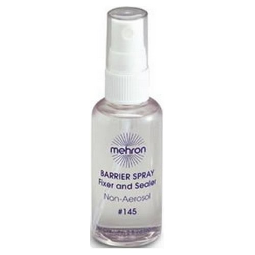 (6 Pack) mehron Barrier Spray Fixer and Sealer - Clear]()