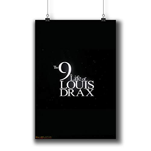 The 9th Life of Louis Drax (2016) Movie Poster Small Prints 914-002,Wall Art Decor for Dorm Bedroom Living Room (A3|11x17inch|29x42cm)