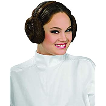 Amazon.com: Princess Leia Headband whair Buns Star Wars Buns ...