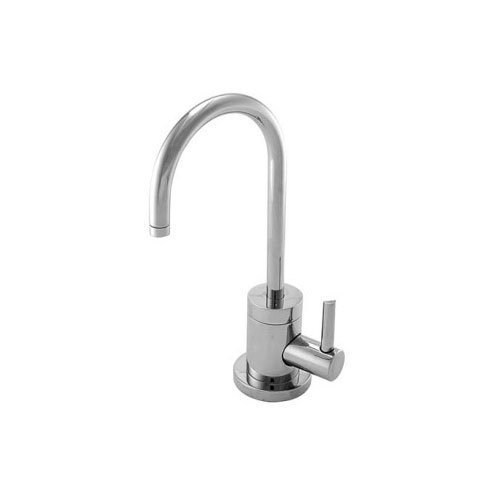 Contemporary Single Handle Single Hole Cold Water Dispenser Faucet Finish: Stainless Steel (PVD) by (Brasstech Dispenser)