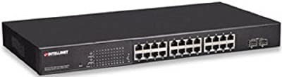 Intellinet 24-Port PoE Web-Managed Gigabit Ethernet Switch (560559)