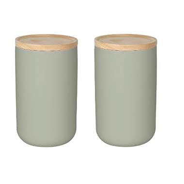 Now Designs Canister, Large, Agate Grey, Set of 2