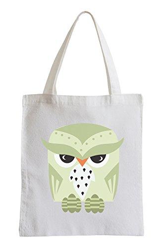 Raxxpurl Sinister Owl Fun sacchetto di iuta