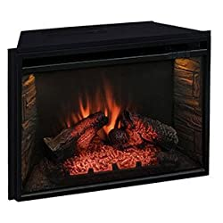 Comfort Smart 26-In Infrared Mesh Screen Electric Fireplace Insert - CS-26MIR from Comfort Smart