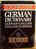 Collins Gem German Dictionary, Calderwood-Schnorr, Veronika and Nicol, Ute, 0004589769