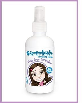 Shampooheads Awesome Annie Kids Detangler for Children - 200ml