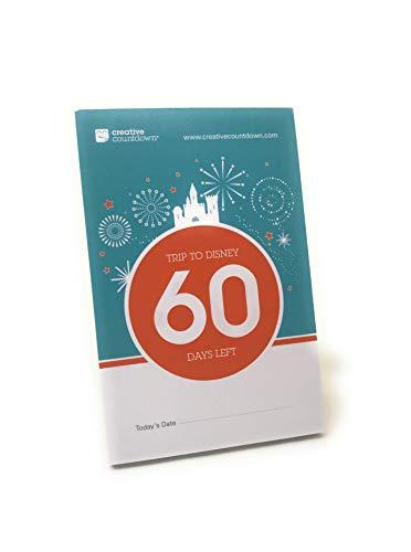 Creative Countdown Countdown to Disney, 60-day Tear-Off Countdown Calendar Fireworks