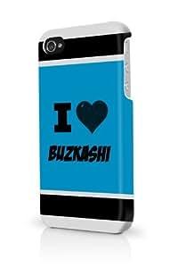 Buzkashi Blue iPhone 5/5S Case - For iPhone 5/5S - Designer PC Case