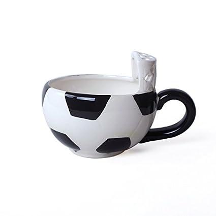 Coffee Cup Dana Carrie Taza de cerámica de Baloncesto Creativo Cartoon Desayuno Taza Dulce de Leche